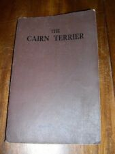 More details for rare cairn terrier dog book by florence ross 1937 many illustrations