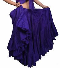 25 Yd boho Tribal belly Dance skirt cotton