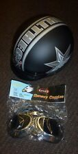 VINTAGE LOOKING HELMET AND GOGGLES LARGE NEW NO BOX
