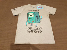 ADVENTURE TIME BEEMO BMO VIDEO GAME KIDS sz12 T-SHIRT LICENSED *NEW* RARE SALE