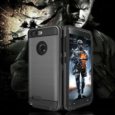 ZTE Blade Z Max Case Military Rubber Cover With Glass Screen Protector