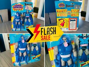 🔥 NEW Vintage 1985 Kenner DC Super Powers Darkseid Action Figure Cape MINTY 🔥