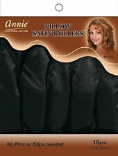 Annie PILLOW SATIN ROLLERS 10 count  FAST USPS PICK UP FOR THIS ITEM !!!