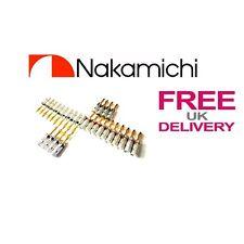 28x QUALITY Nakamichi Altoparlante Banana Plug connettore placcato in oro 24k ** UK **