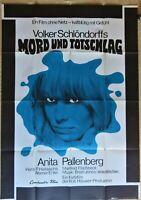 """A DEGREE OF MURDER~""""MORD UND TOTSCHLAG"""" 1966 ORIG GERMAN MOVIE POSTER PALLENBERG"""
