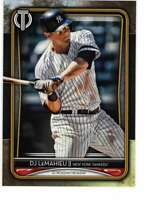 DJ LeMahieu 2020 Topps Tribute 5x7 Gold #4 /10 Yankees