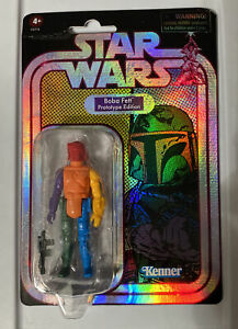 Star Wars Retro Collection Boba Fett Prototype Edition Target Exclusive In Hand