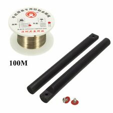 100m 0.1mm Phone LCD Screen Molybdenum Separating Cutting Wire Glass + Stick