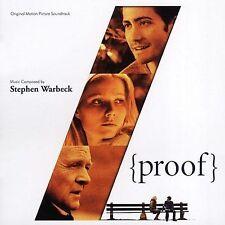 Proof [Original Motion Picture Soundtrack] by Stephen Warbeck (CD, Sep-2005, Var