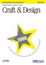Craft and Design Standard Grade (G/C) SQA Past Papers 2008, SQA   Paperback Book