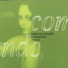 VANESSA PARADIS Commando 4TRX w/ 3 MIXS FRANCE CD Single SEALED 2000 USA seller