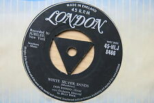 "DON RONDO White Silver Sands / Stars Fell On Alabama UK 7"" London HLJ 8466 VG+"