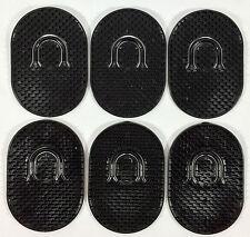 6 Genco Pocket Brush Hair Hand Shampoo Comb Mustache Travel Scalp Massager