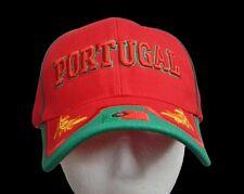 Portugal Country Flag Sports Soccer Team Baseball Cap Hat Casquette Chapeau
