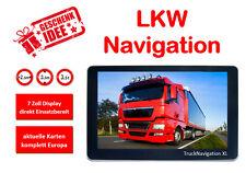 Truck Satnav, 7 Inch, Incl. resting place search, 24 V, Europe, Navigation, GPS, Truck