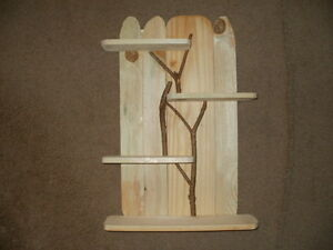 "Shelf Fence Stick Log 25"" x 17"""