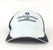 Charles Schwab CUP Championship Baseball Cap Hat Adj Adult Size Polyester