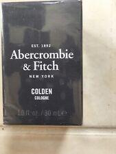 NEW Abercrombie & Fitch Colden 1.0 Oz Men's Eau de Cologne Sealed DISCONTINUED