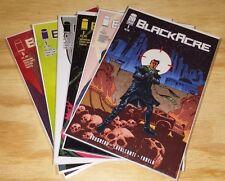 BLACKACRE 1 2 3 4 5 6 Boudreau Cavalcanti Dystopia Sci-Fi IMAGE NM FIRST PRINTS