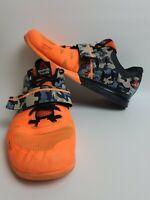 REEBOK CROSSFIT Mens CF 74  Athletic Training Bright Orange Sneakers Size 12