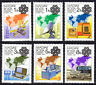 HUNGARY - 1983 - World Communications Year - MNH Set of Six - Scott #2806-#2811