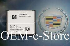 2011 2012 2013 Cadillac Escalade ESV EXT Navigation CF Card DATA Map U.S Canada