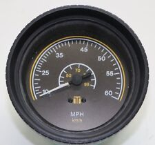 # 72514 Teleflex 10 - 60 MPH Speedometer Black Gauge FREE SHIP!