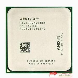 AMD FX-4300 FD4300WMW4MHK Processor 3.8GHz/4000 MHz Socket AM3+ CPU 95W