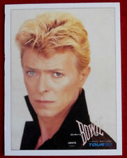 DAVID BOWIE - Individual Trading Card - Card #12 - Serious Moonlight Tour 1983