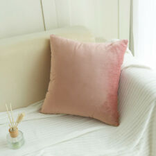 Velvet Pillow Sofa Waist Throw Cushion Cover Home Decor Cushion Cover Case 18''