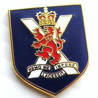 THE ROYAL REGIMENT OF SCOTLAND ARMY MILITARY LAPEL PIN BADGE FREE GIFT POUCH MOD