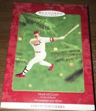 Hallmark Keepsake Mark McGwire - St. Louis Cardinals Baseball Ornament Series #5