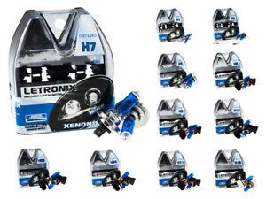 LETRONIX Halogen Sockel Leuchtmittel 8500K Xenon Gas Ultra White E-Prüfzeichen