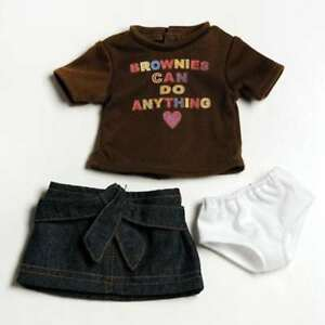 Brownie Girl Scout T-Shirt Outfit by Adora