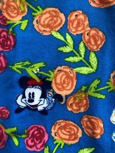 NEW Lularoe Disney Leggings L/xl Kids Minnie Mickey Blue Floral fast Shipping