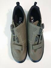 Fi'zi:k X5 Terra Mountain Bike Shoes - Green - EU Size 45 US 11.5 UK 10.5, 290mm