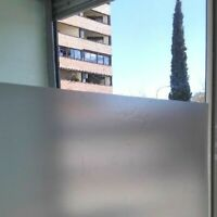 lamina solar vinilo acido traslucido autoadhesivo cristal, escaparate, 60x120cm
