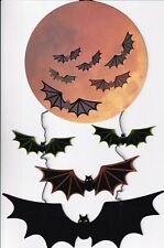 PAPYRUS HALLOWEEN CARD NIP MSRP $8.95 BAT MOBILE