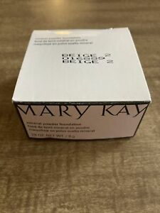 Mary Kay Mineral Powder Foundation BEIGE 2 New in Box