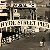 Tom Myers Photo of Sausalito Eureka Hyde Street Pier SF Maritime Ship Bay Area