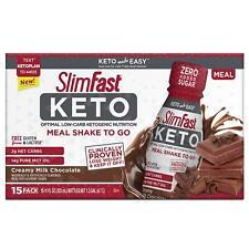 SlimFast Keto Ready-To-Drink Chocolate (15 pk.)