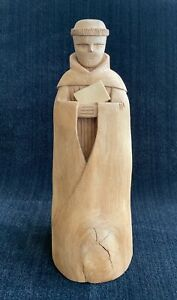 Leo Salazar Hand-Carved Wood Sculpture ~ Taos, New Mexico