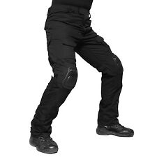 TACVASEN Mens Tactical Military Army Soldier Cargo Combat Pants W/ G3 Knee Pads