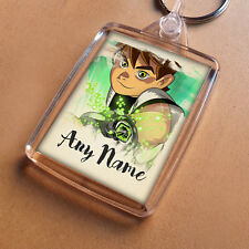Ben 10 Personalised Keyring, Party Bag Filler, Keychain Birthday Christmas