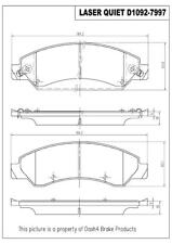 Disc Brake Pad Set-Rear Drum Front,Rear Pronto LMD1092