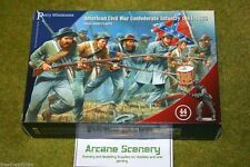 Perry Miniatures Guerra Civil Americana Confederado Infantería 1861-1865 28mm Set