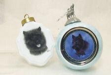 Black Terrier Dog Vladimir Ornament & Black Knight Wolf Bradford Edition