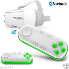 VR SCATOLA Virtuale Reality 3D Occhiali Bluetooth Remote Control Per iphone