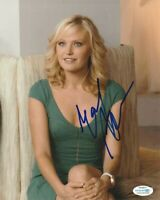 *SEXY* MALIN AKERMAN SIGNED 8x10 PHOTO! BILLIONS DOLLFACE WATCHMEN ACOA COA