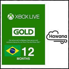 Microsoft Xbox Live Gold 12 Month Membership (Brazil) – VPN REQUIRED USA